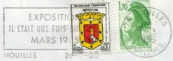 Le timbre de Houilles